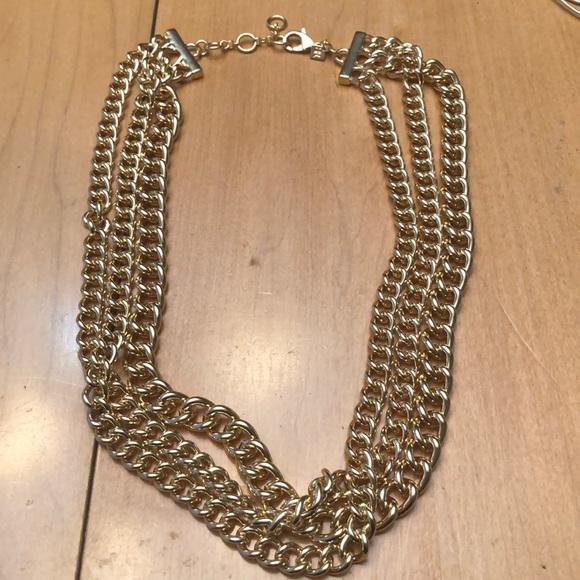 Banana Republic Jewelry - Banana Republic Gold Necklace